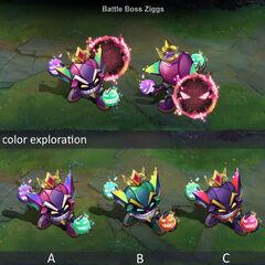 Battle Boss Ziggs Concept (by Riot Artist <a href=