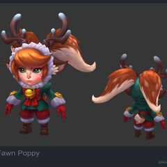 Snow Fawn Poppy Model 2 (by Riot Artist <a rel=