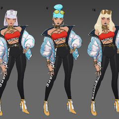 True Damage Qiyana Concept 7 (by Riot Artist <a href=