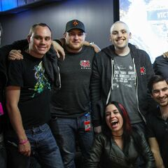 Riot Staff & Joe (Make a Wish Foundation)
