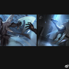 Aphelios Splash Concept 2 (by Riot Artist <a href=