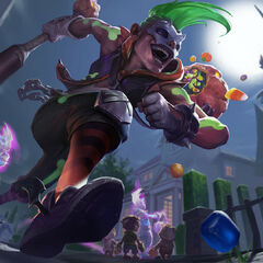 Trick or Treat Ekko Splash Concept 3 (by Riot Artist <a href=