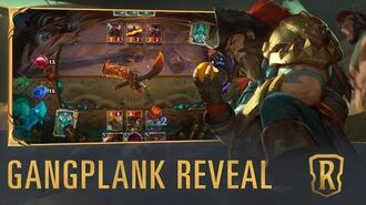 Gangplank Reveal New Champion - Legends of Runeterra