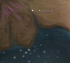 Kashuri map