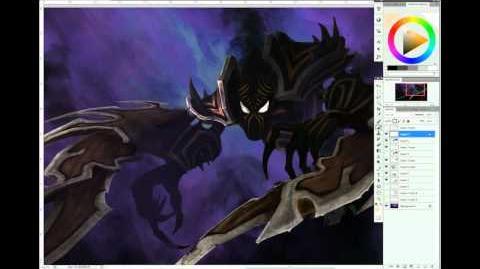 League of Legends - Focus Artistique su Nocturne