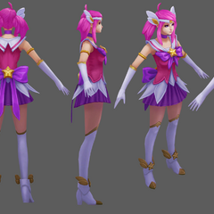Star Guardian Lux Model 2 (by Riot Artist <a href=