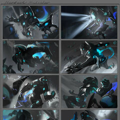 Hextech Malzahar Splash Concept 1 (by Riot Artist <a href=
