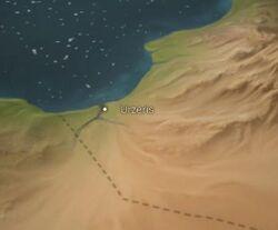 Urzeris map