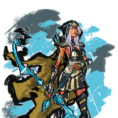 Ashe Update Concept 1 (by Riot Artist <a href=