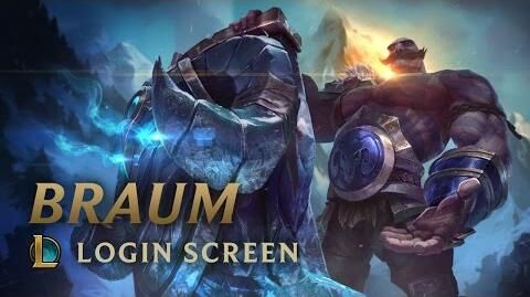 Braum, das Herz Freljords - Login Screen