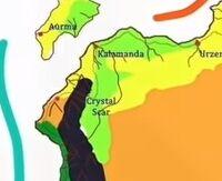 Crystal Scar map