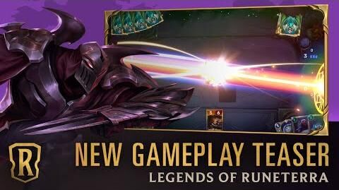 Legends of Runeterra - New Gameplay Teaser 30 Second Preview