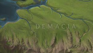 Lower Demacia map
