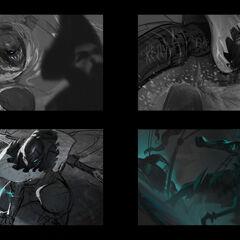 Pyke Splash Concept 1 (by Riot Artist <a href=