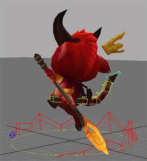 Teemo LittleDevil Model 02