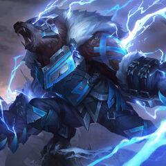 Runeguard Volibear Splash Update Concept 3 (by Riot Contracted Artist <a href=