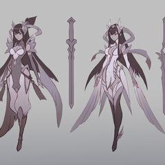 Divine Sword Irelia Concept 1 (by Riot Artist <a href=