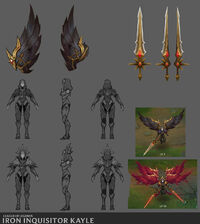 Kayle Update Eiserne Inquisitorin Konzept 03
