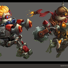 Mechs vs. Minions Concept 2 (by Riot Artist <a rel=