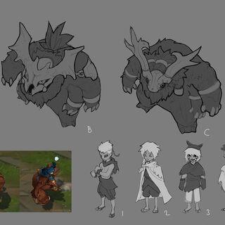 Sasquatch Nunu &amp; Willump Update Concept 1 (by Riot Artist <a href=