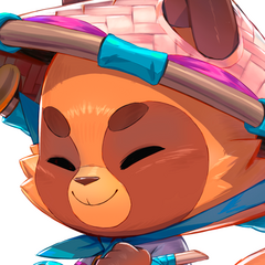 Spirit Blossom Teemo Promo 3 (by Riot Artist <a href=