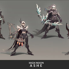 High Noon Ashe Concept 2 (by Riot Artist <a href=