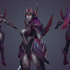 Dark Valkyrie Diana Model (by Riot Artist <a href=
