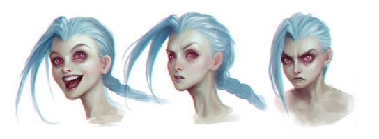 Jinx Gesichtsausdrücke 2