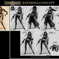 Katarina Concept (by Riot Artist <a rel=