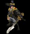 Master Yi Ewiges Schwert Yi (Obsidian) M