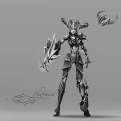 Shyvana Concept 1 (by Riot Artist <a href=