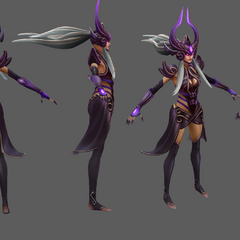 Syndra Model 4 (by Riot Artists <a rel=