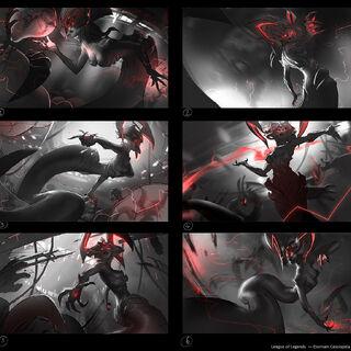 Eternum Cassiopeia Splash Concept 1 (by Riot Artist <a href=
