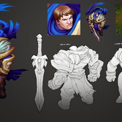 Garen Update Concept (by Riot Artist <a href=