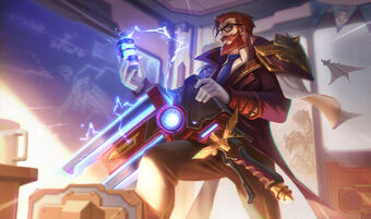Graves BattleProfessorSkin