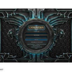Beta Login Interface (by Riot Artist <a rel=