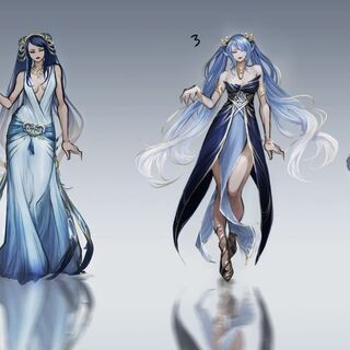 Call of Power Sona Concept 3 (by former Riot Artist <a href=