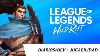 Diarios dev mayo 2020 - Revelación de jugabilidad - League of Legends Wild Rift