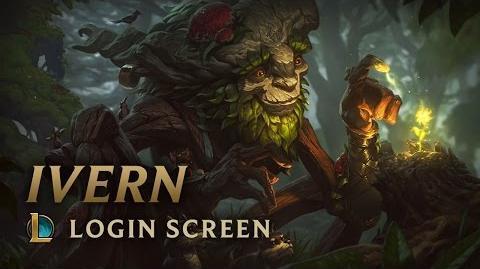 Ivern - ekran logowania