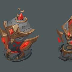 Nexus Siege Turret Concept 2 (by Riot Artist <a rel=