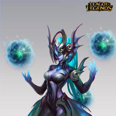 Atlantean Syndra Concept 1 (by Riot Artist <a href=