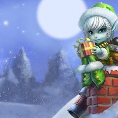 Drugi portret Świątecznego Elfa Tristany