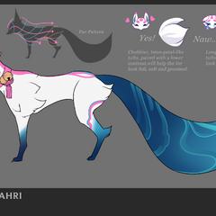 Spirit Blossom Ahri Concept 7 (by Riot Artist <a href=