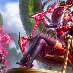 Heartseeker Ashe Splash Concept (by Riot Artist <a href=
