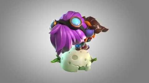 Dragon Trainer Tristana figure turnable