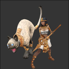Koncept aktualizacji modelu Nidalee Faraon 3