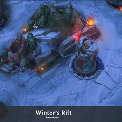 Summoner's Rift Update Winter Concept 3 (by Riot Artist <a rel=
