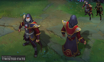 Twisted Fate Blutmond- Konzept 1