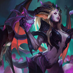 Dragon Sorceress Zyra Splash Concept 3 (by Riot Artist <a href=