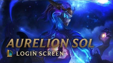 Aurelion Sol - ekran logowania